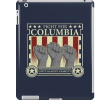 Fight for Columbia iPad Case/Skin