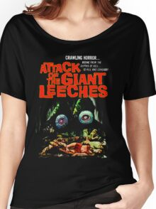 Attack of the giant leeches poster Women's Relaxed Fit T-Shirt