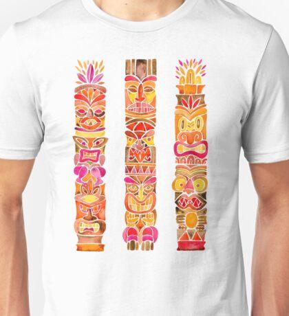 Tiki Totem – Fiery Palette Unisex T-Shirt