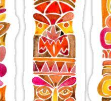 Tiki Totem – Fiery Palette Sticker
