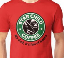 Star Child Coffee Unisex T-Shirt