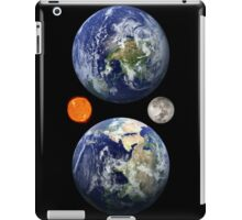 Earth Sun & Moon iPad Case/Skin