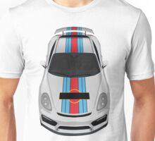 porsche cayman gt4 martini white Unisex T-Shirt
