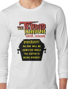 The terror title poster Long Sleeve T-Shirt