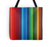 Brilliant Multi Colored Stripes Tote Bag