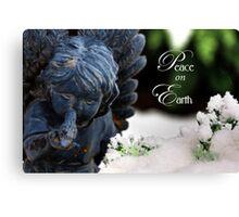 Peace On Earth Angel Canvas Print