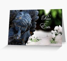 Peace On Earth Angel Greeting Card