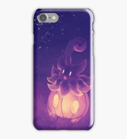 Night Pumpkaboo iPhone Case/Skin