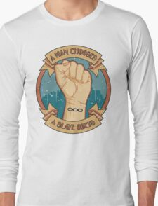A Man Chooses, A Slave Obeys  - Bioshock Long Sleeve T-Shirt