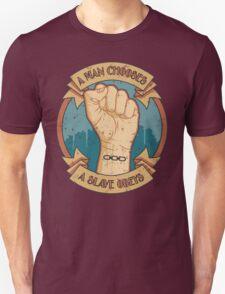 A Man Chooses, A Slave Obeys  - Bioshock Unisex T-Shirt
