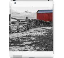 Shakertown Red Barn - SC iPad Case/Skin
