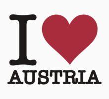 I love Austria by artpolitic