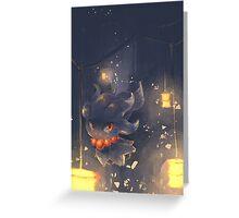 Lantern Misdreavus Greeting Card