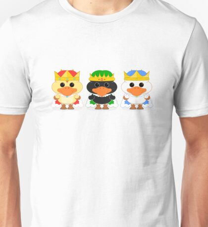 The Three Wise Ducklings Unisex T-Shirt