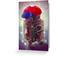 Robo-Ness Greeting Card