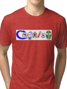 Coexist -  2nd amendment Tri-blend T-Shirt