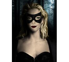 Black Canary - Katie Cassidy Photographic Print