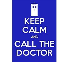 Doctor Who: Keep Calm Photographic Print