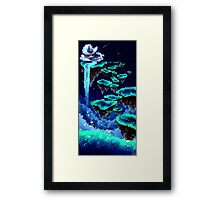 Cloudy Serenity Framed Print