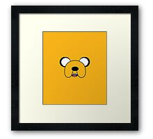 The Face of Jake Framed Print
