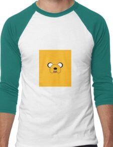The Face of Jake Men's Baseball ¾ T-Shirt