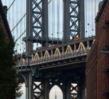 NYC // Brooklyn Heights // Empire State Building // Manhattan Bridge Sticker