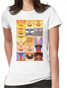 Lion Guard Minimalist  Womens Fitted T-Shirt