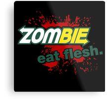 Zombie - Eat Flesh Metal Print
