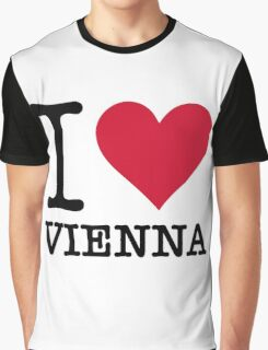 I Love Vienna Graphic T-Shirt