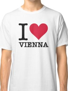 I Love Vienna Classic T-Shirt