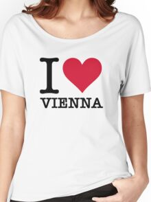 I Love Vienna Women's Relaxed Fit T-Shirt