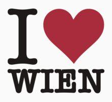 I Love Vienna by artpolitic