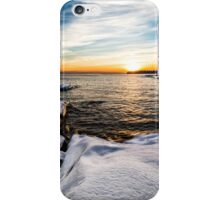 Winter sunset iPhone Case/Skin