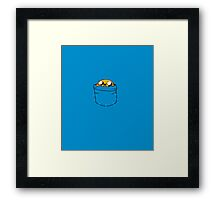 Jake Pocket Framed Print