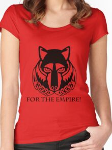 Solitude - For the Empire Women's Fitted Scoop T-Shirt