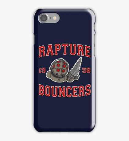 Rapture Bouncers - Big Daddy iPhone Case/Skin