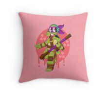 NERD TURTLE Throw Pillow