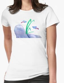 Guppy Scene Womens Fitted T-Shirt