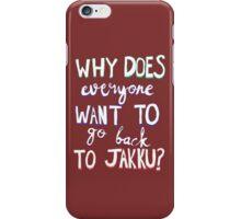 Jakku iPhone Case/Skin