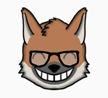 Maned Wolf With Glasses Happy Face Emoji Unisex T-Shirt