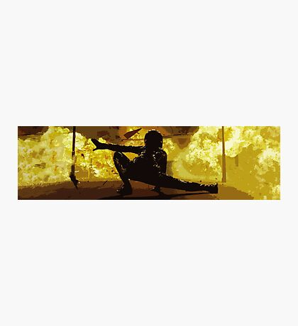 I'm Going In  -  Matrix Reloaded Photographic Print