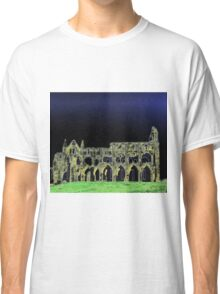 Whitby Abbey 3 Classic T-Shirt