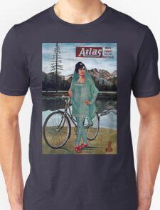 Vintage poster - Atlas Bicycle Unisex T-Shirt