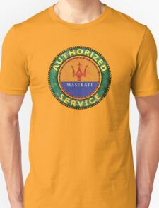 Vintage Maserati service sign T-Shirt