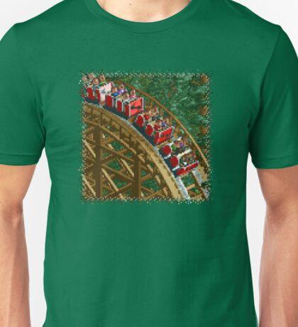 RCT - Wooden Roller Coaster Unisex T-Shirt