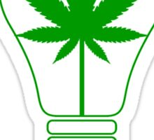 Think Green - Cannabis Sticker