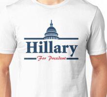 Hillary Clinton For President Unisex T-Shirt