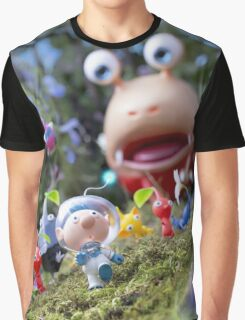 pikmin olamar and co Graphic T-Shirt
