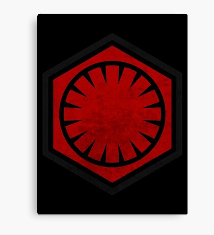 Star Wars - First Order Canvas Print