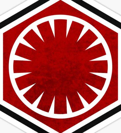 Star Wars - First Order Sticker